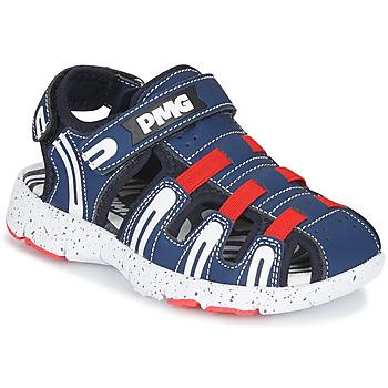 Shoes Boy Outdoor sandals Primigi  Marine / Red