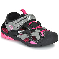 Shoes Girl Outdoor sandals Primigi 5460011 Black / Pink
