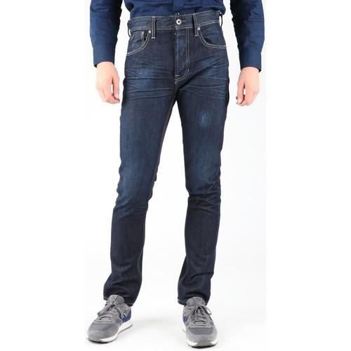 Clothing Men slim jeans Guess Edison M14R95D0HN1 WOOB granatowy
