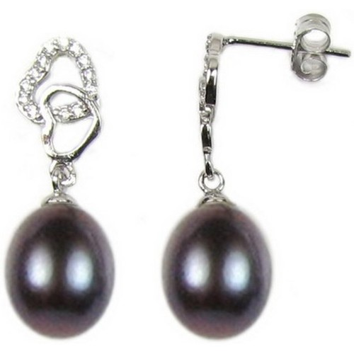 Watches Women Earrings Blue Pearls BPS 0315 Y Multicolored