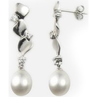 Watches & Jewellery  Women Earrings Blue Pearls BPS 0327 Y Multicolored