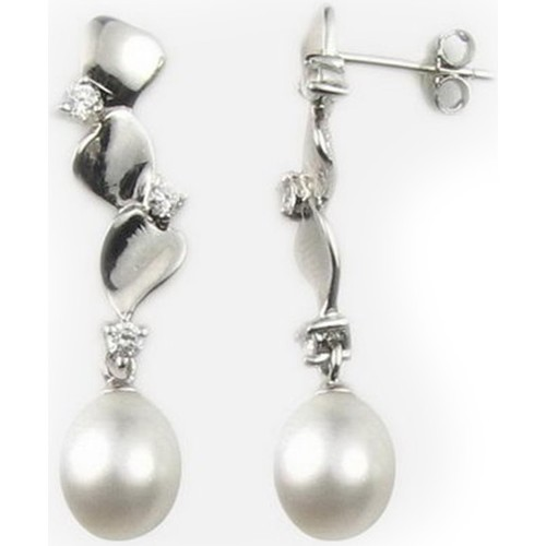 Watches Women Earrings Blue Pearls BPS 0327 Y Multicolored