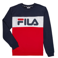 Clothing Children Sweaters Fila FELIX Marine / Red
