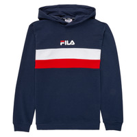 Clothing Children sweaters Fila FLORINAE Marine / Red
