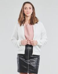 Clothing Women Sweaters Moony Mood CHUCK White