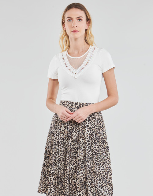 Clothing Women Tops / Blouses Moony Mood DURINO White
