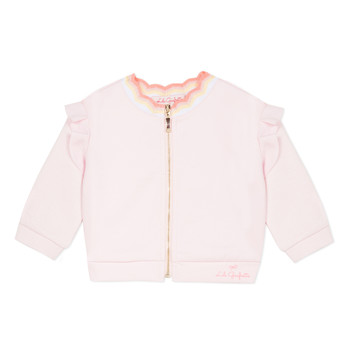 Clothing Girl Jackets / Blazers Lili Gaufrette NANI Pink
