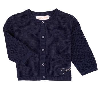 Clothing Girl Jackets / Cardigans Lili Gaufrette NANETTE Marine