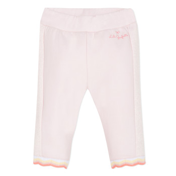 Clothing Girl 5-pocket trousers Lili Gaufrette NOLIS Pink