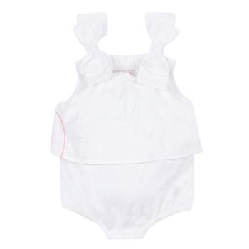 Clothing Girl Jumpsuits / Dungarees Lili Gaufrette NOLENI White