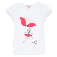 Clothing Girl Short-sleeved t-shirts Lili Gaufrette KATINE White