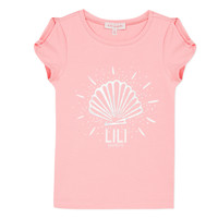 Clothing Girl short-sleeved t-shirts Lili Gaufrette KATIA Blush