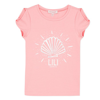 Clothing Girl Short-sleeved t-shirts Lili Gaufrette KATIA Blush
