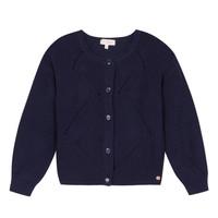 Clothing Girl Jackets / Cardigans Lili Gaufrette MADINE Marine