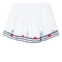 Clothing Girl Skirts Lili Gaufrette BELINDA White