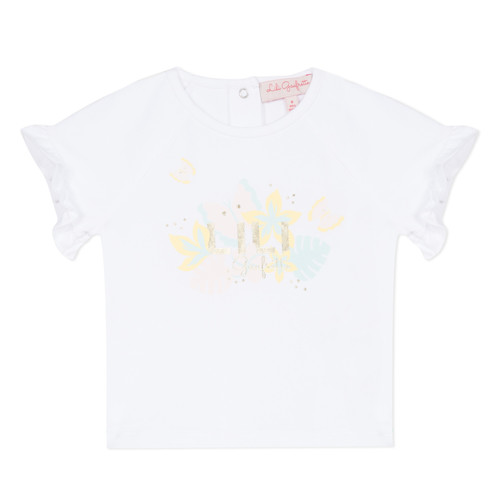 Clothing Girl short-sleeved t-shirts Lili Gaufrette KERINI White