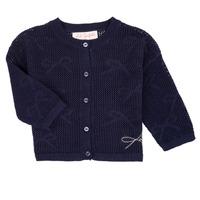 Clothing Girl Jackets / Cardigans Lili Gaufrette CETELIA Marine