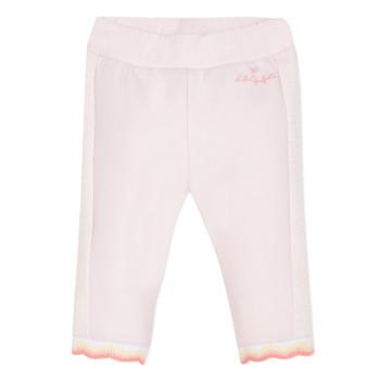 Clothing Girl 5-pocket trousers Lili Gaufrette DIM. Pink