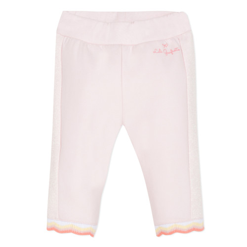 Clothing Girl 5-pocket trousers Lili Gaufrette DIM. Pink