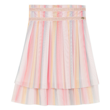 Clothing Girl Skirts Lili Gaufrette MIREILLE Multicolour