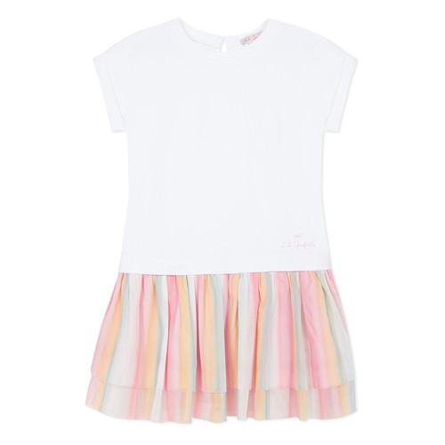 Clothing Girl Short Dresses Lili Gaufrette MOLLY Multicolour