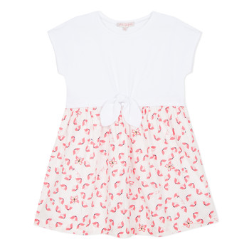 Clothing Girl Short Dresses Lili Gaufrette CAYDEN White
