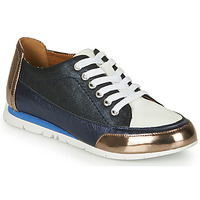 Shoes Women Low top trainers Karston CAMINO Blue