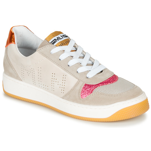 Shoes Women Low top trainers Meline GEYSON Beige