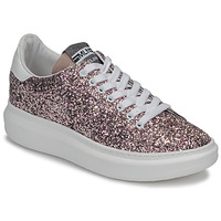 Shoes Women Low top trainers Meline GEYSI Glitter / Pink