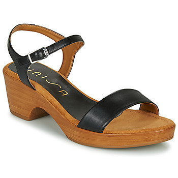 Shoes Women Sandals Unisa IRITA Black