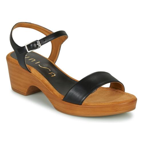 Shoes Women Sandals Unisa IRITA Black