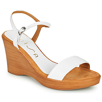 Shoes Women Sandals Unisa RITA White