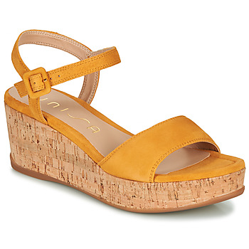 Shoes Women Sandals Unisa KOME Yellow