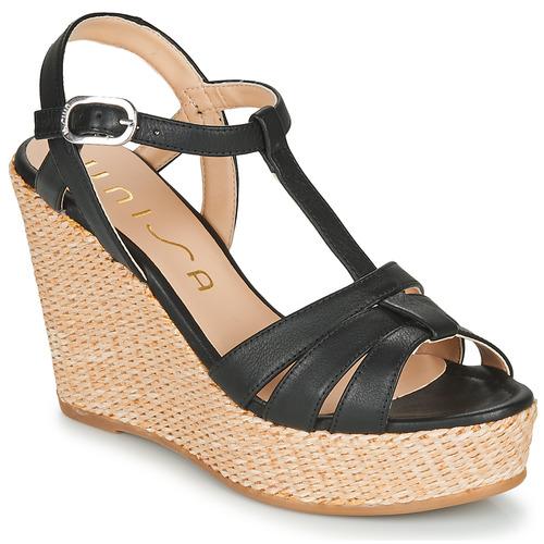 Shoes Women Sandals Unisa MACA Black