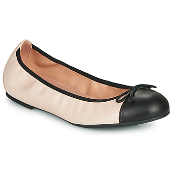 Shoes Women Flat shoes Unisa AUTO Nude / Black