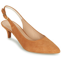 Shoes Women Heels Unisa JAMAL Camel
