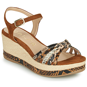 Shoes Women Sandals Unisa KIO Camel