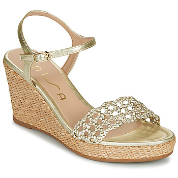 Shoes Women Sandals Unisa LOBI Gold