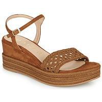 Shoes Women Sandals Unisa KISOM Brown