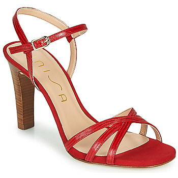 Shoes Women Sandals Unisa SANTA Red