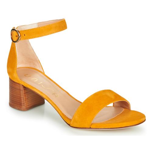 Shoes Women Sandals Unisa GELETE Yellow