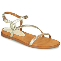 Shoes Women Sandals Unisa CLARIS Gold