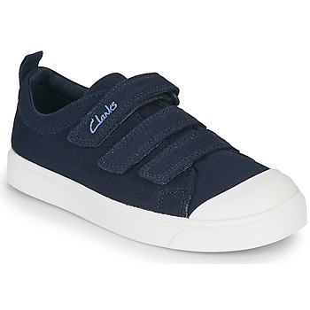 Shoes Children Low top trainers Clarks CITY VIBE K Marine