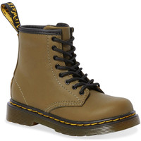 Shoes Women High boots Dr Martens 1460 T Dms Olive Romario Smoother Finish Green