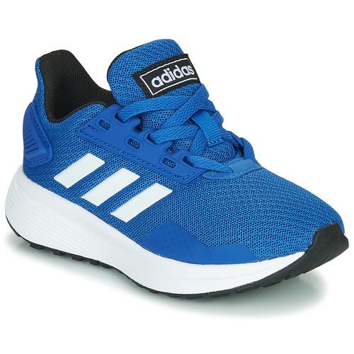 Shoes Children Low top trainers adidas Originals DURAMO 9 K Blue