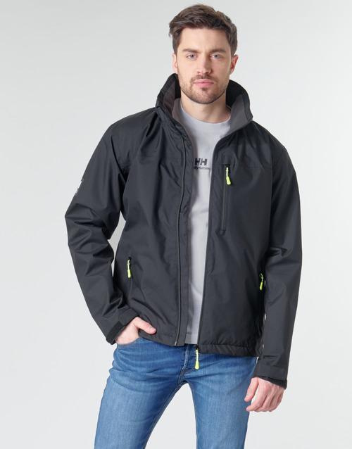 Clothing Men Jackets Helly Hansen CREW HOODED Black