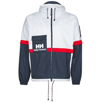 Clothing Men Jackets Helly Hansen RAIN White / Marine