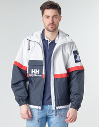 Clothing Men Jackets Helly Hansen RAIN White / Marine