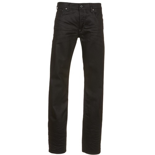 Clothing Men Straight jeans G-Star Raw ATTAC STRAIGHT Black