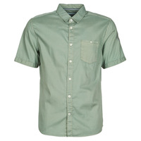 Clothing Men short-sleeved shirts Tom Tailor RAY OVERDYED Kaki